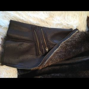 Mox Members Only Jackets & Coats - Vest with Faux Fur